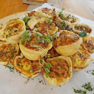Mix Quiche Platter (30 Items)