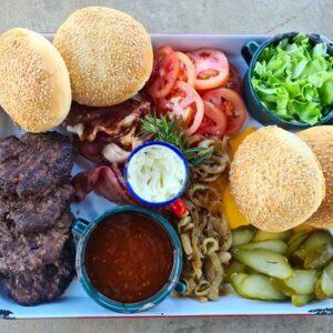 Fritz Build your Own Burger Platter