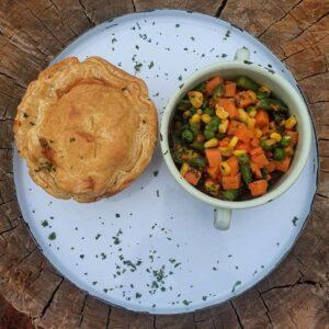 9 Sep – Wed – Chicken & Mushroom Homemade Pie