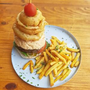 Gourmet Homemade Beef Burger