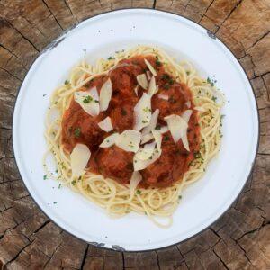 4 – Sep – Fri – Italian Style Meatballs & Spaghetti