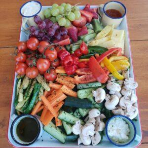 Healthy Fruit/Veg Platter (serves 4-6)